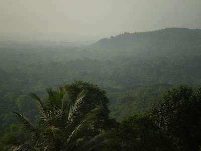 View from top of MIT Men's Hostel, Manipal