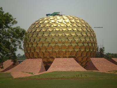 matrimandir Auroville pondy