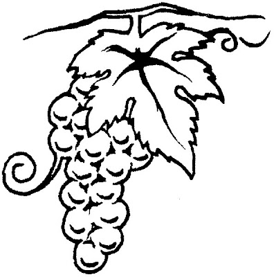 desenhos para tatuagem - caixos de uvas