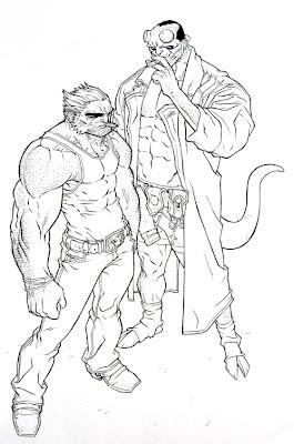 wolverine e hellboy