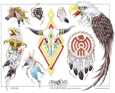 Desenhos para tatuagem - Desenhos de águias