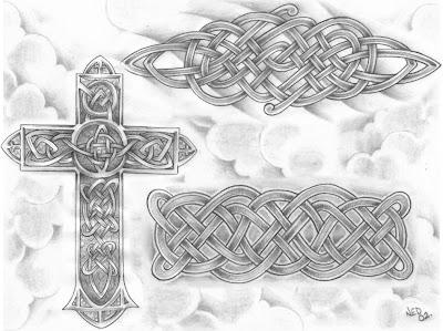 Desenhos para tatuagem - Desenhos Celtas
