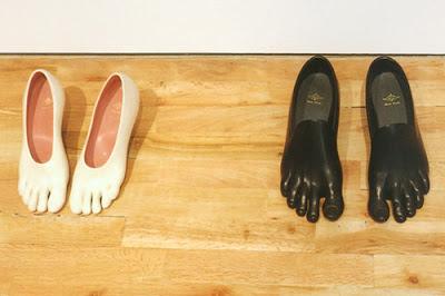 sapatos que se adequam aos seus pés