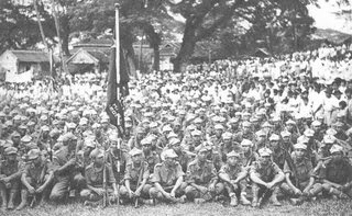 Malaysian People Anti-Japanese Army yg kebanyakannya dianggotai oleh ahli-ahli Parti Komunis Malaya