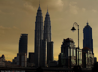 Kuala Lumpur City Center, also known as the Petronas twin tower