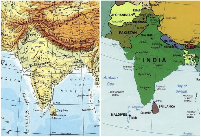 Cartina India Nepal.Amnesty International Coordinamento Sud Asia Settembre 2011