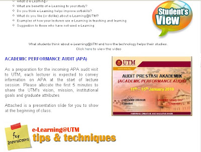 APA = UTM ???? ::.. | Welcome To My Diary