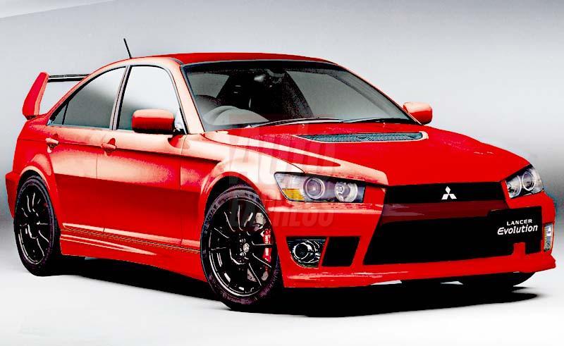 Mitsubishi Lancer Evolution Viii. Tuned Mitsubishi Lancer Evo