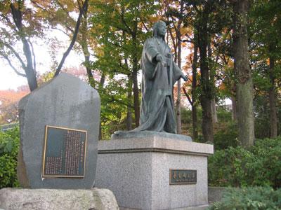 Kasuga statue near Ueno Station