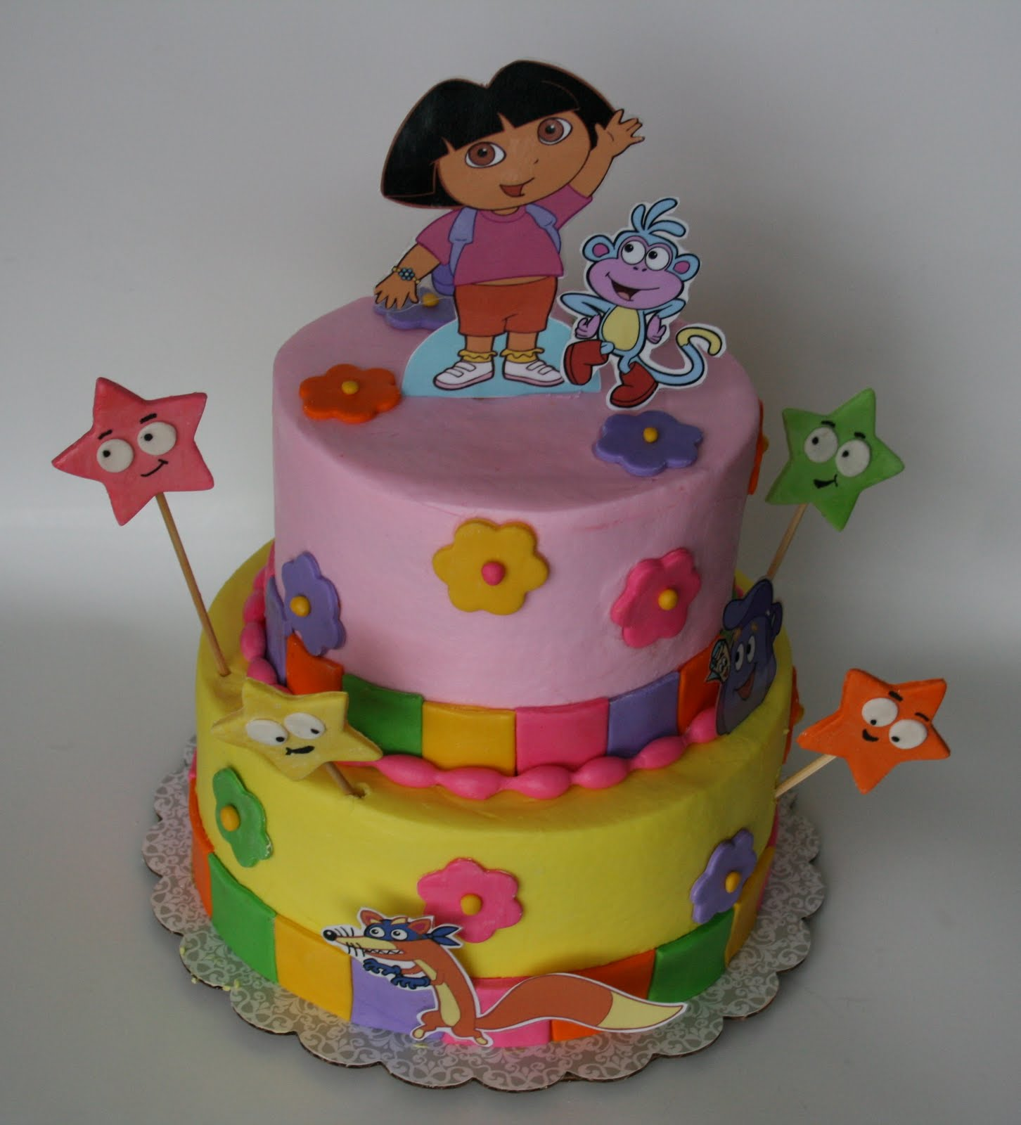 And Everything Sweet Dora Cake