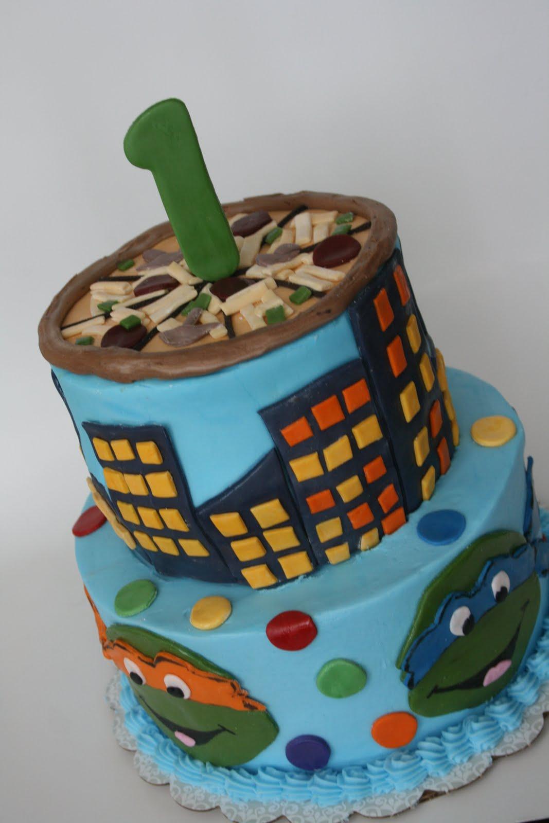 And Everything Sweet Teenage Mutant Ninja Turtle Cake