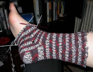 more sock progress