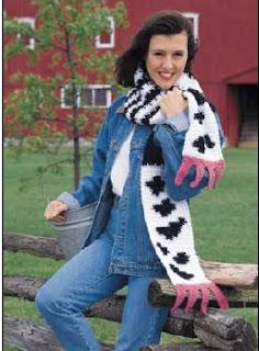 udder scarf