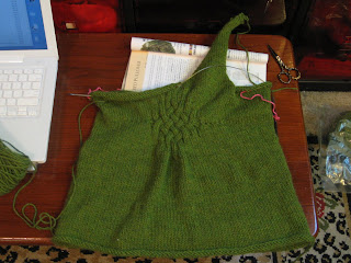 gathered pullover