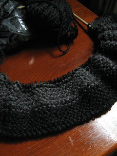 garter scarf