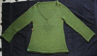 blocking pullover