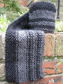 sideways scarf