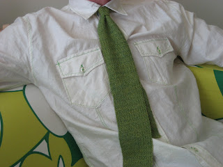 great green sock tie