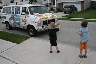 Ice cream! Ice cream! Ice cream!