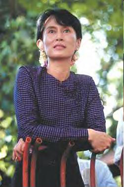 As Daw Aung San Suu Kyi proclaimed,