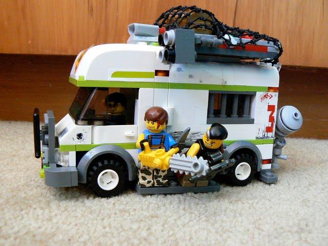 Lego Asia: Lego City Camper Van --- Zombie Defense Camper