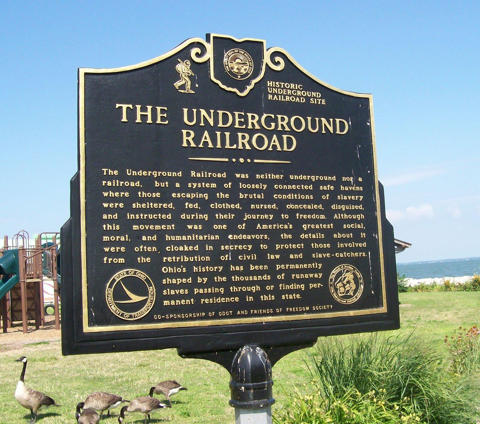 Graveyard Rabbit of Sandusky Bay: Underground Railroad ...