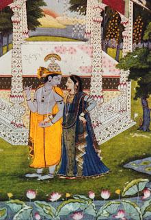 Krishna, Van Morrison and hinduism