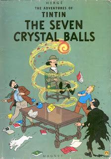 Tin Tin Indian Hocus Pocus Ball lightning India The Seven Crystal Balls