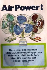 old Ad for Rallifan