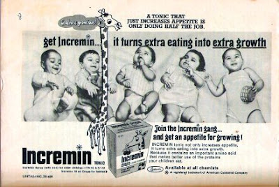 old Ad for Incremin tonic