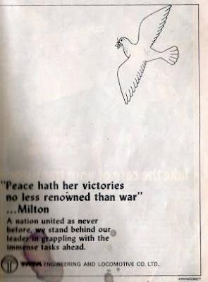 Ad of TATA during 1971 War