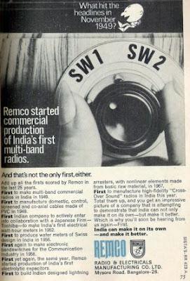 Ad for Remco Radio