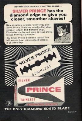 Ad for Silver Prince Razor Blade
