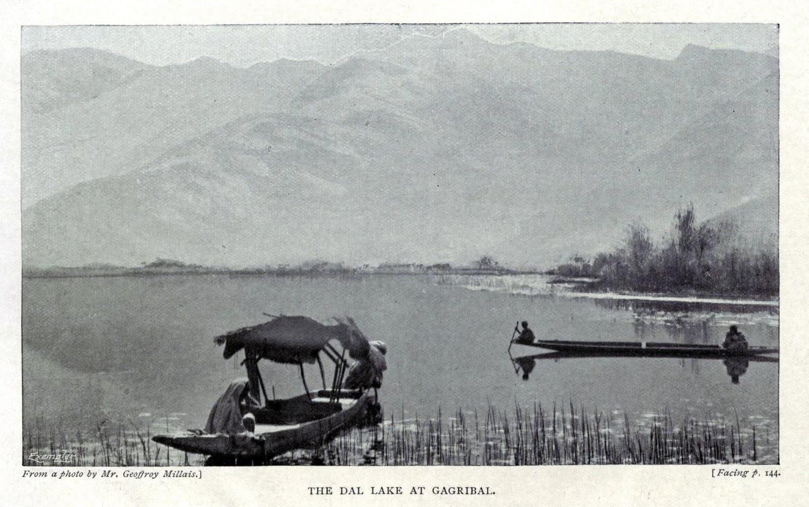 Dal Lake at Gagribal