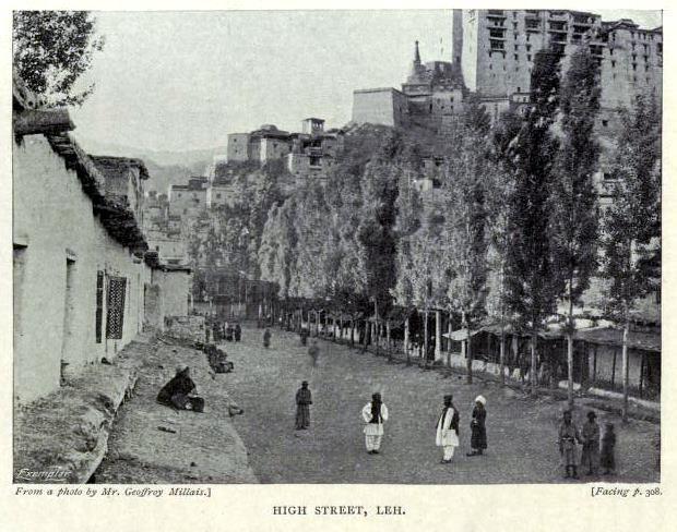 High Street, Leh.
