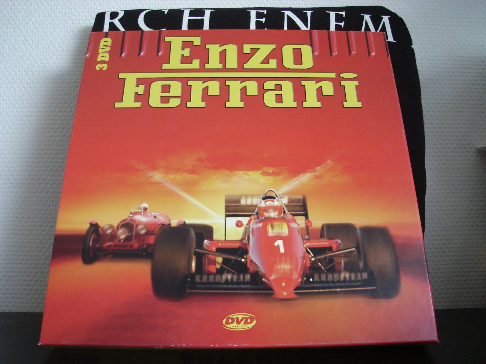 renavspainatal - dvd collection: enzo ferrari - the movie