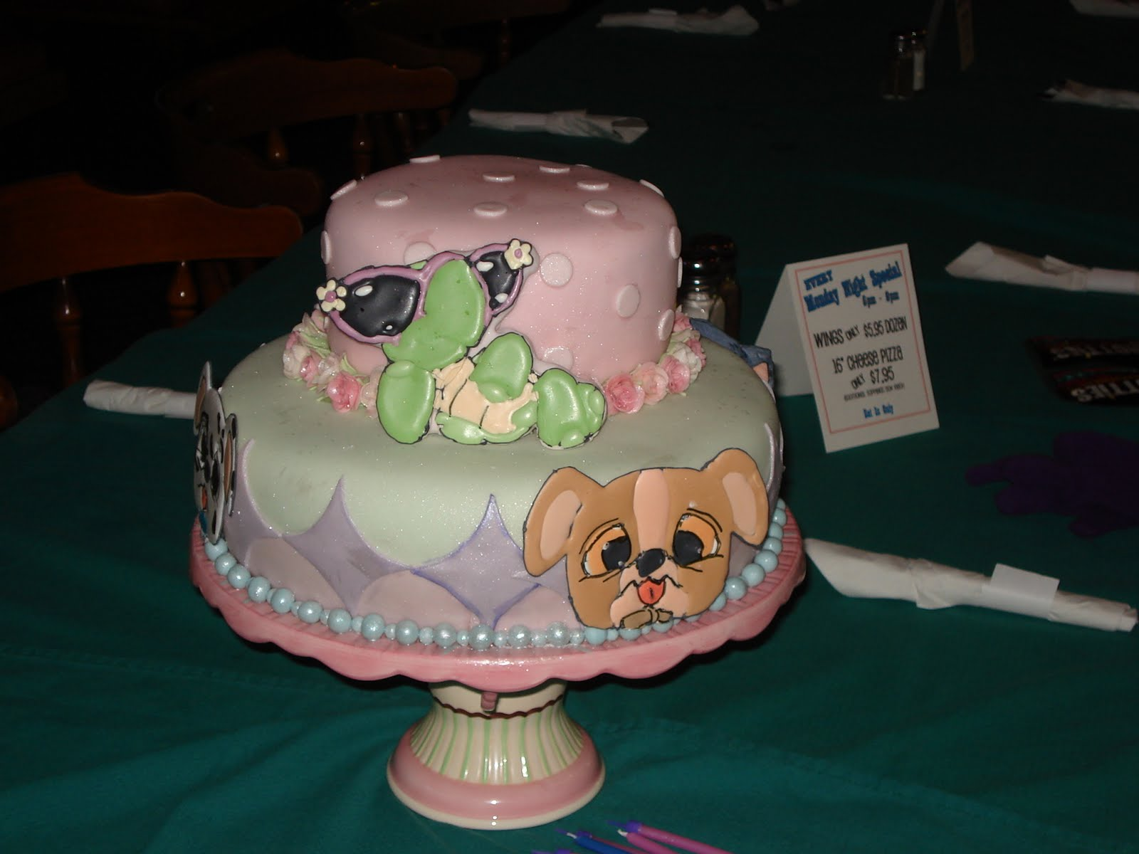 070cd8c2c1 ... we were able to arrive on time with a complete Littlest Pet shop themed  cake! Our little girl was thrilled and happy and everyone loved the cake.