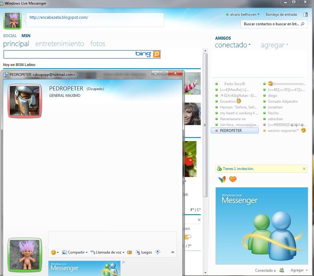 Chat video di Windows Live Messenger xxx