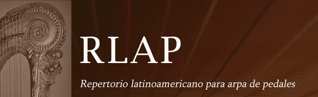 Repertorio Latinoamericano para Arpa de Pedales