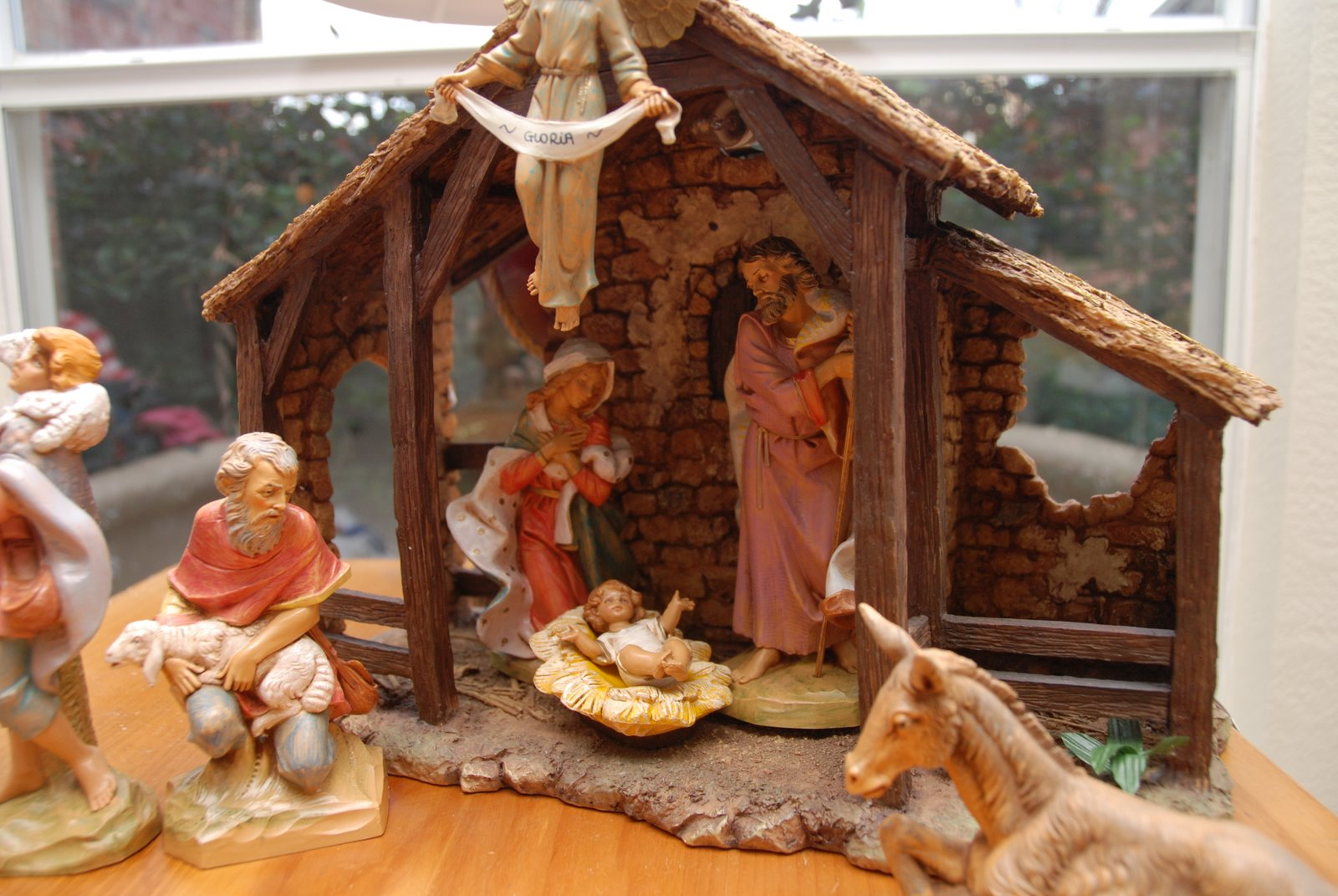 christmas decoration jesus birth