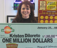 Georgia Lottery winner Kristen Diloreto