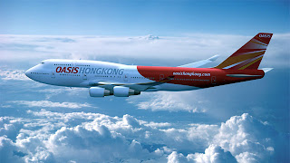 Oasis Hong Kong Boeing 747-400