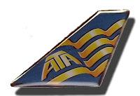 ATA Airlines pin