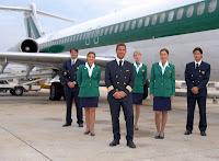 Alitalia crew members