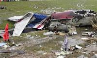 Wreckage of One-Two-Go crash at Phuket