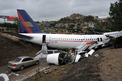 TACA A320 accident at Tegucigalpa
