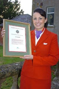 Lynsey Cole, Virgin Atlantic cabin crew