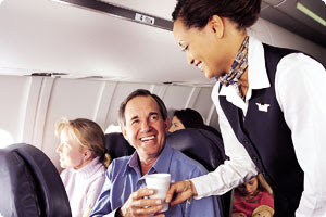 ASA flight attendant