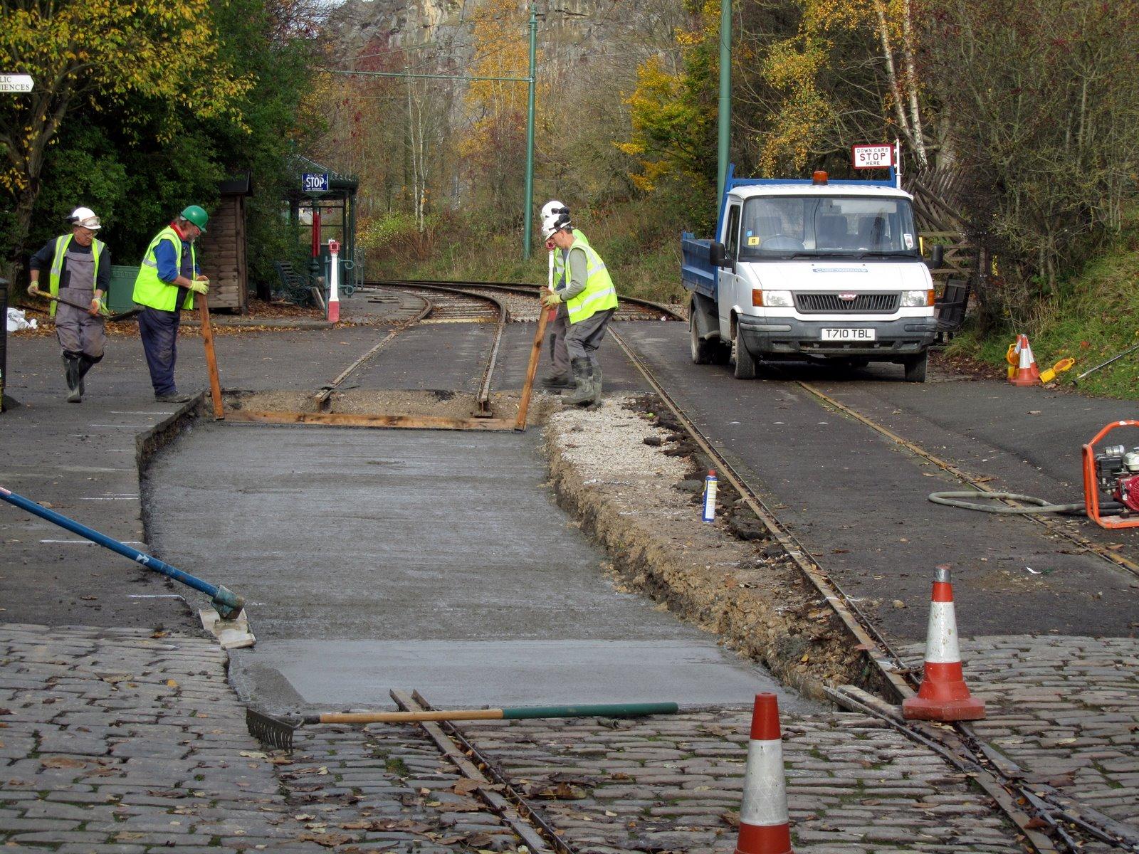 Richard's Tram Blog: Track Work