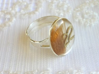 Pet Hair Keepsake Ring